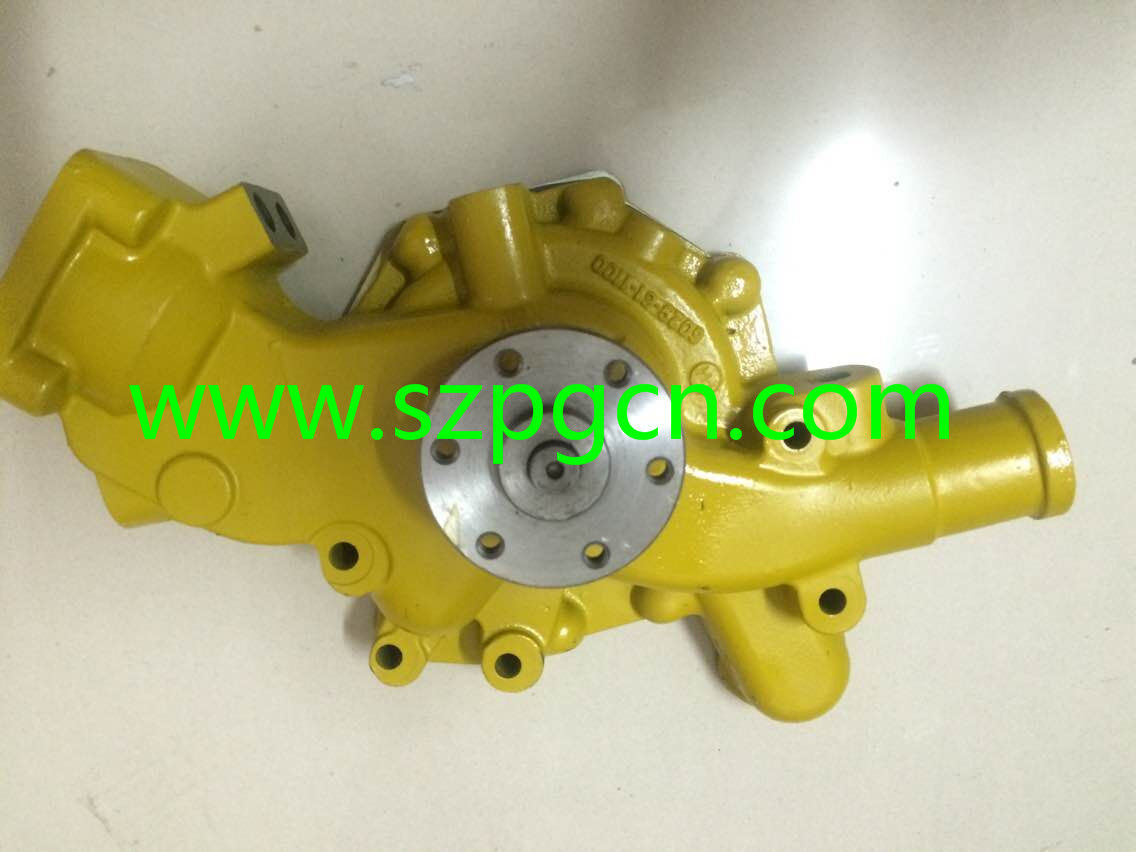 China Supplier PC200-6 6D95 Water Pump 6209-61-1100 Cooling Pump for Excavator