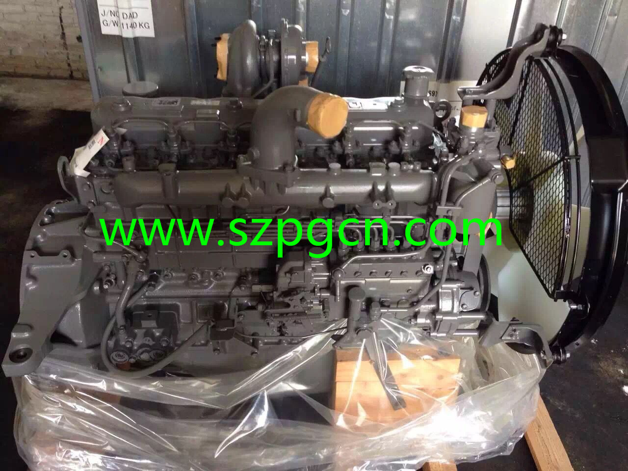 6BG1 ENGINE ASSY
