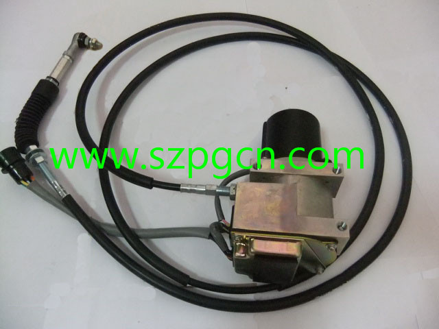 PG 4B016 DH220-5 ROUND 2523-9014 THROTTLE MOTOR